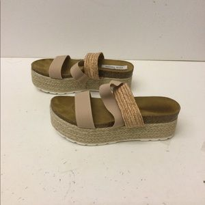 Steve Madden women's platform sandals size 10